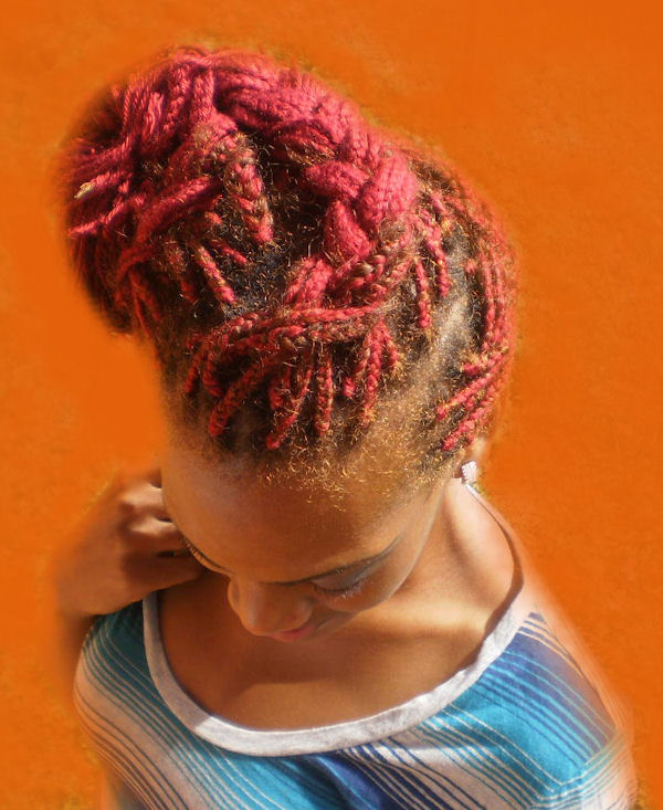 Wonderful hairstyles! How did you do the one where you're holding the dog. Black HairStyles: Akiyia's Natural Twist & Hair Braiding