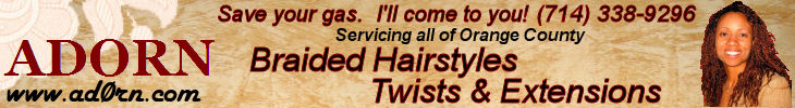 Adorn Hair Salon Banner
