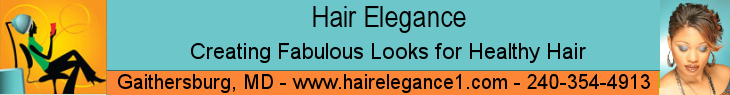 Hair Elegance Salon Banner