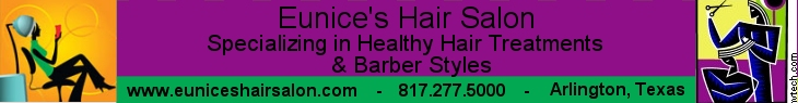 Eunices Hair Salon Banner